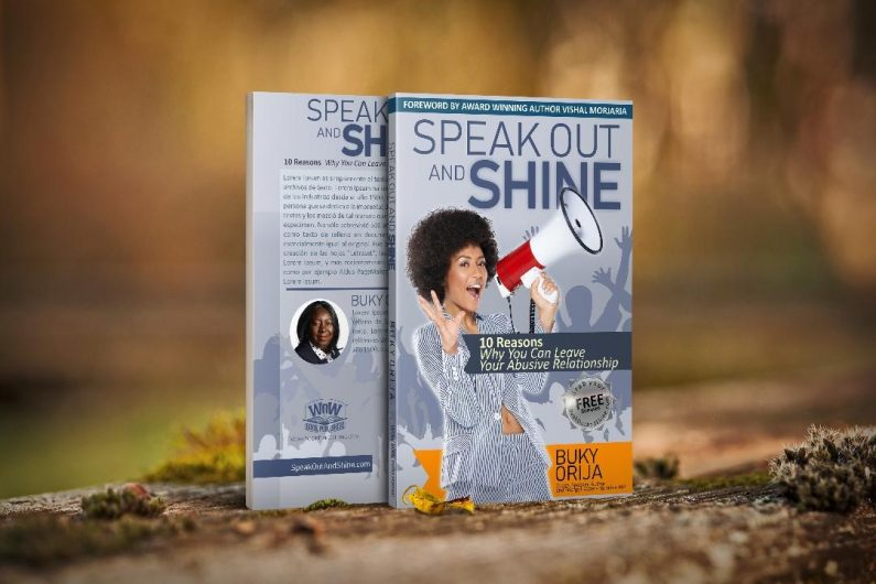 speak out and shine book cover